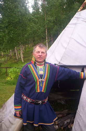 Uralic peoples - A Pite Sami from Beiarn