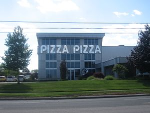 Pizza Pizza - Pizza Pizza corporate headquarters on Kipling Avenue.