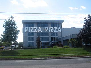 Pizza Pizza Canadian pizza restaurant chain