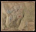 Plan relief de Jérusalem et de ses environs d'après les plans de Wilson, Schick, V.Guérin, etc. - Construit par Ch.Muret-vertical-view.jpg