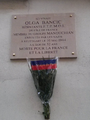 Plaque commemorative Olga Bancic 114 rue du Chateau Paris 14.png