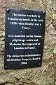 Plaque near shrine at Henllys - geograph.org.uk - 1587048.jpg