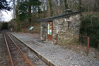 Plas Halt railway station - Plas Halt