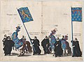 Plate 64- The magistrates of the city of Brussels marching in the funeral procession of Archduke Albert of Austria; from 'Pompa Funebris ... Alberti Pii' MET DP874756.jpg