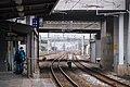 Platform 1B, TRA North Hsinchu Station 20160206c.jpg