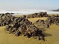 Playa salvaje entre Agadir y Sidi Ifni (Marruecos) (15746479805).jpg