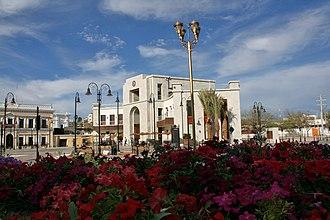 Hermosillo - Plaza Bicentenario in Hermosillo, 2011
