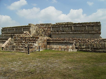 One of the structures at the Plazuelas archeological site Plazuelas.JPG