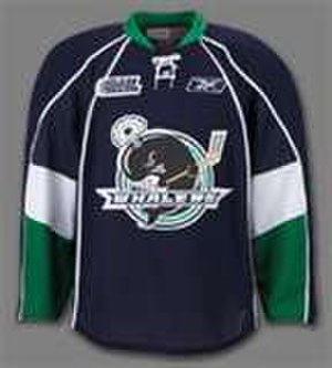 Plymouth Whalers - Whalers Blue Jersey