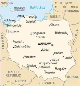 Lista de cidades na Polónia – Wikipédia, a enciclopédia livre 247b245e19