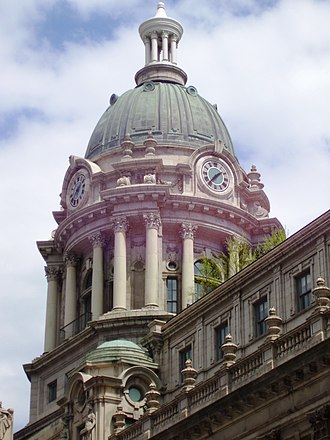 240 Centre Street - Image: Police Building dome