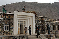 Police at School in Tagab, Kapisa, April 30, 2007 (DOD 2007070430-A-7096B-068).jpg