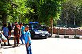 Police car at Giza zoo by Hatem Moushir.JPG