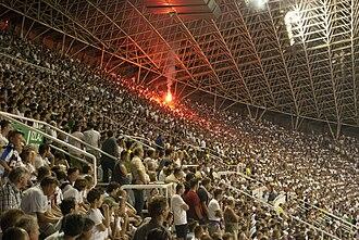 Stadion Poljud - Western stand