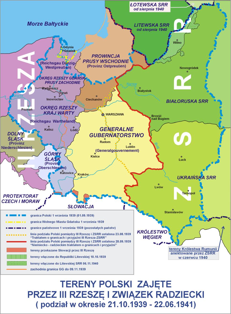 Polska 1939-1941