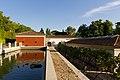 Pond near Villanueva Pavillon, Royal Botanical Garden, Madrid, 2015.jpg