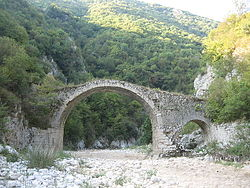Hannibal's Bridge on the river Melandro