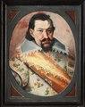 Porträtt, Johann Georg I av Sachsen - Skoklosters slott - 87718.tif