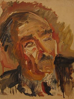 Pierre Jean Jouve - Portrait of Pierre Jean Jouve by Claire Bertrand.