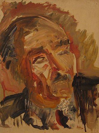 Pierre Jean Jouve - Portrait of Pierre Jean Jouve by Claire Bertrand.