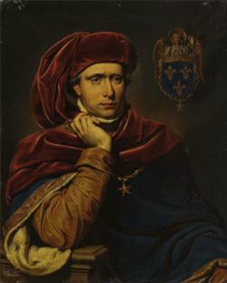 Portrait de Charles VI, conservé à Versailles, 1838
