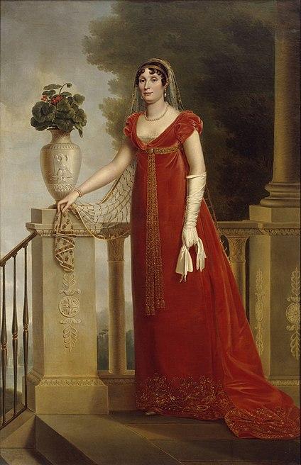 Portrait of Elisa Bonaparte