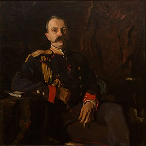 1901 in Russia - Portrait of Grand Duke Georgy Mikhailovich