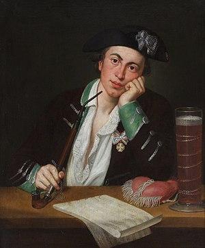 Joseph Martin Kraus - Joseph Martin Kraus (1756-1792) as a student in Erfurt.