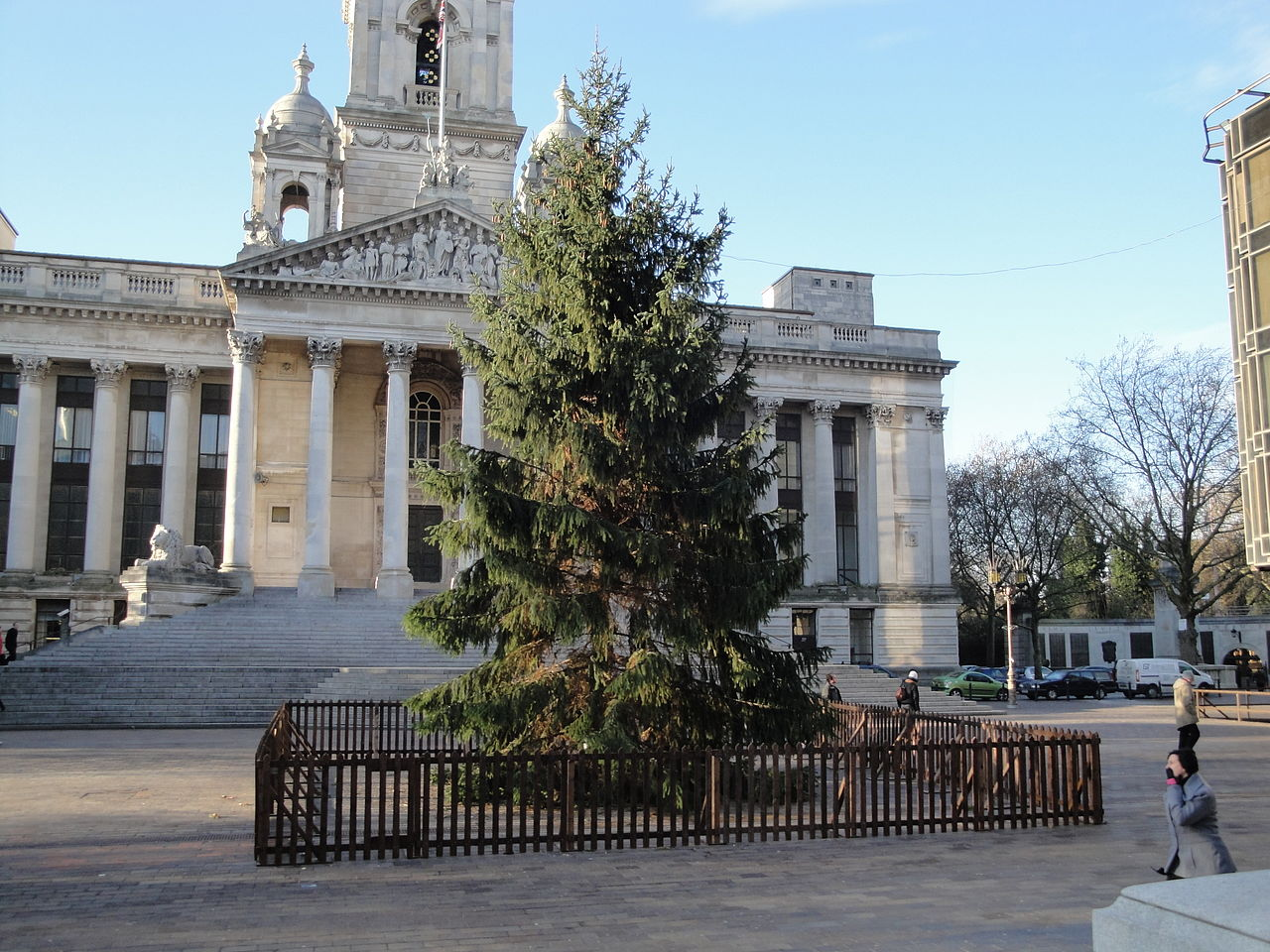 Christmas Tree Collection Portsmouth : File portsmouth guildhall square christmas tree g
