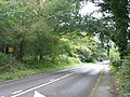 Portsmouth Road to the northeast in Liphook, Hampshire, England 3.jpg