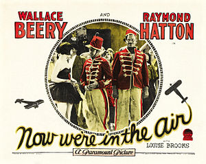 Now We're in the Air - Lobby card