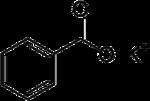 Struktur von Kaliumbenzoat