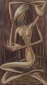 Poupetova Miluse - Mezi trny, soft pastel, 70x40cm, r. 1989.jpg
