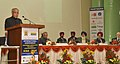 Pranab Mukherjee addressing the International Conference on Sustainable Agriculture for Food & Livelihood Security, at the Golden Jubilee of Punjab Agriculture University, at Ludhiana. The Governor of Punjab.jpg