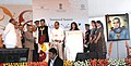 "Pranab Mukherjee lighting the lamp to inaugurate the ""Krishi Vasant"" agriculture exhibition, in Nagpur. The Governor of Maharashtra, Shri K. Sankaranarayanan.jpg"