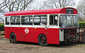 Preserved London Transport bus BS5 (GHV 505N) 1975 Bristol LHS ECW, Staplecross Shrub Centre, 3 April 2011 (1).jpg