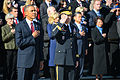 President Barack Obama, front left, and U.S. Army Maj. Gen Jeffrey S. Buchanan, center, the commanding general of Joint Force Headquarters-National Capitol Region and the U.S. Army Military District 131111-A-KT191-006.jpg