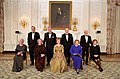 Presidents and First Ladies pose for a photograph at the 2000 White House Historical Association Dinner.jpg