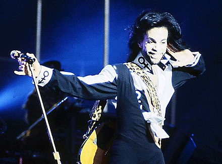 Recording artist Prince studied at the Minnesota Dance Theatre through the Minneapolis Public Schools. Prince by jimieye-crop.jpg