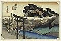 Print, Yugoyoji Temple (Fugisawa), in The Fifty-Three Stations of the Tokaido Road (Tokaido Gojusan Tsugi-no Uchi), ca. 1834 (CH 18608951).jpg