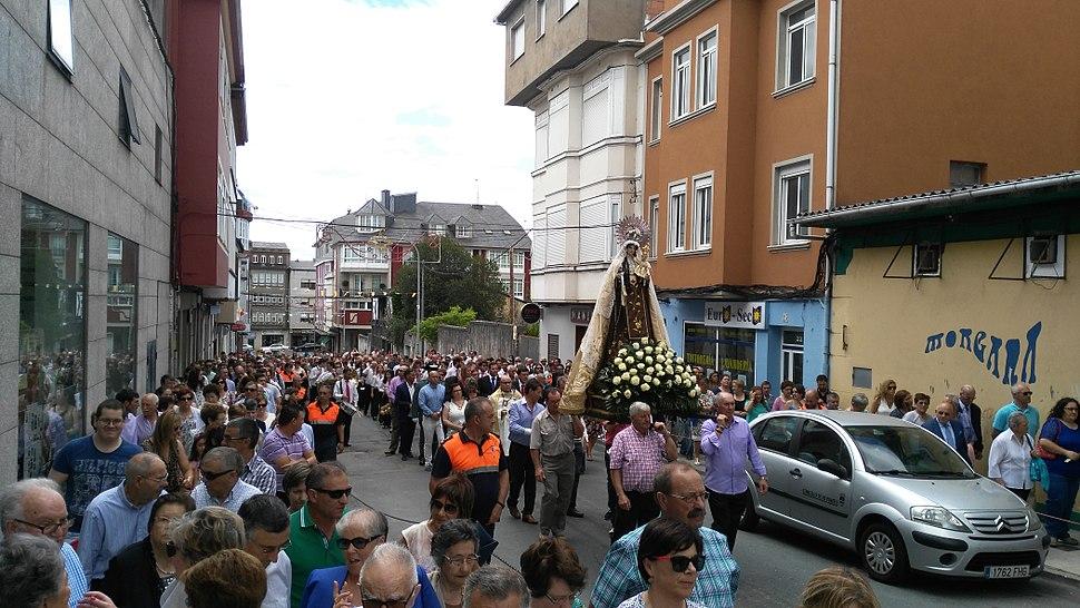 Procesión Virxe do Carme As Pontes 2015
