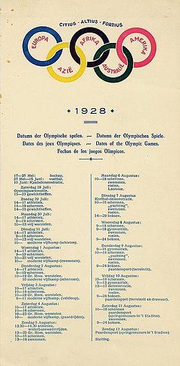 Olympische Zomerspelen 1928 Wikipedia