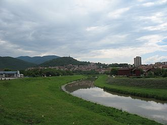 Toplica (river) - Toplica in Prokuplje