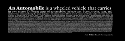 Proposed auto bumper sticker for Wikipedia - black background.png