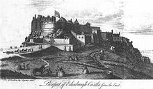Edinburgh Castle 1753