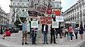 Protesto contra a reforma europeia do direito de autor, em especial os artigos 11 e 13, em Lisboa, Julho de 2018.jpg