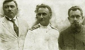 Provisional Priamurye Government - Merkulov-Stark-Merkulov