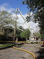 Prytania Third Fire March 2012 Tall Ladder Hose.JPG