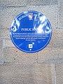 Public Hall plaque in Jedburg.jpg