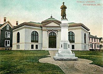 Pittsfield, Maine - Image: Public Library, Pittsfield, ME
